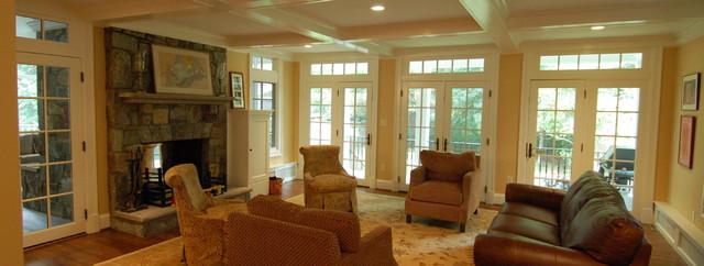 Delfield Street eclectic-family-room