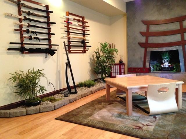 Den Into Japanese Tea Room - Asian - Family Room