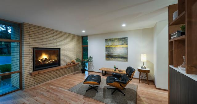 Denver Mid Century Modern Midcentury Family Room