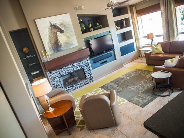 Desert Stone Ln contemporary-family-room