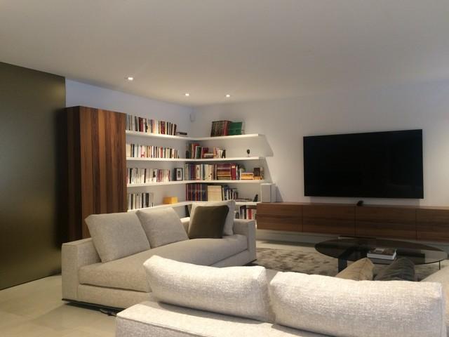 design intérieur contemporain  Contemporary  Family Room