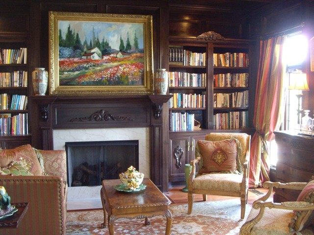 traditional family room by Designs by Gollum