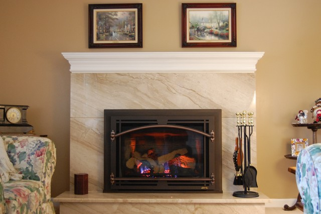 Diano Reale Marble Fireplace Surround And Hearth