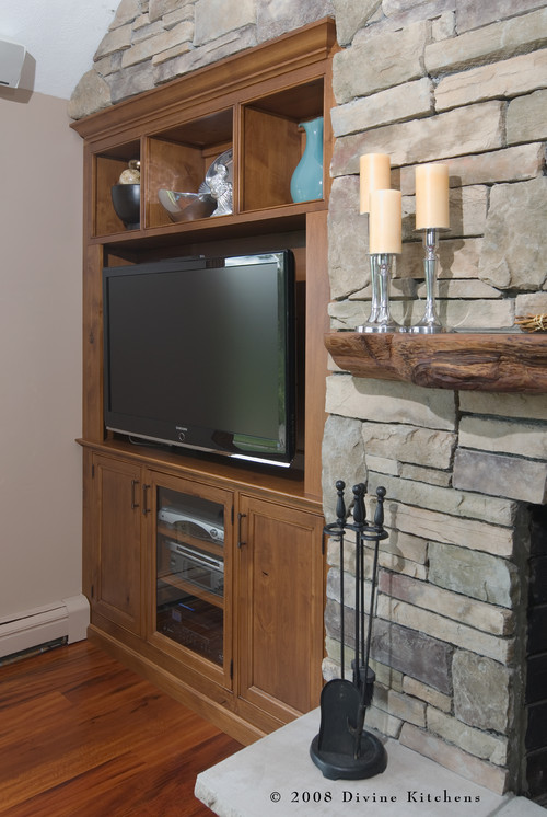 Donna's Blog: Family Room TV Cabinet | Divine Kitchens LLC