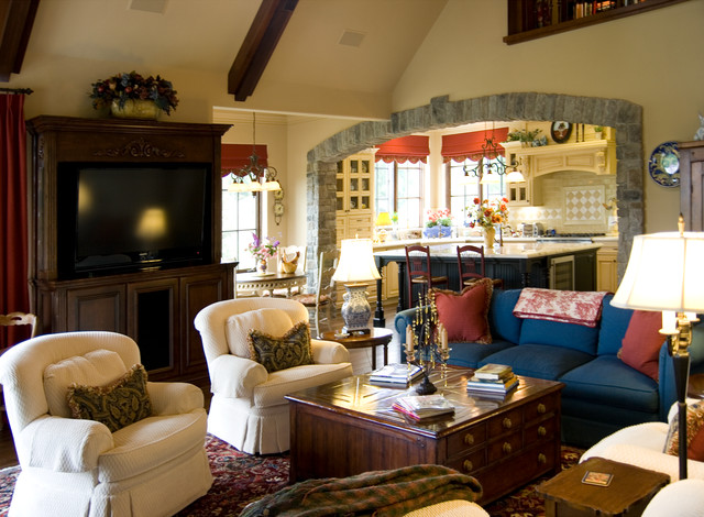 Dolinar Residence traditional-family-room