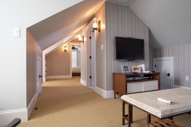 Dormers contemporary-family-room