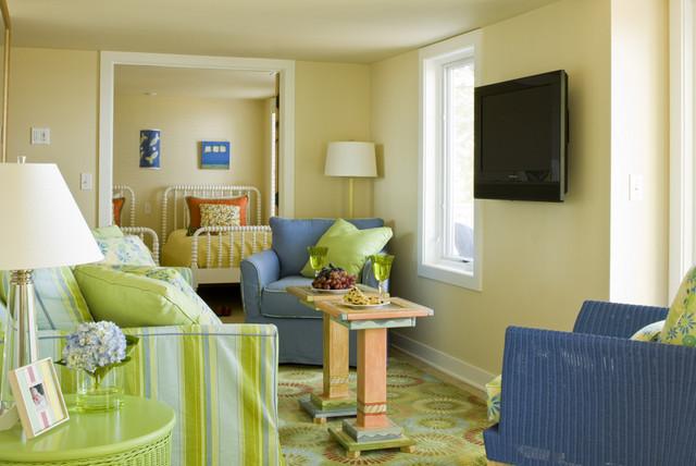 Douglas Beach House traditional-family-room