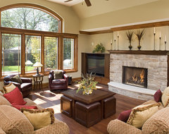 Downers Grove Residence craftsman-family-room