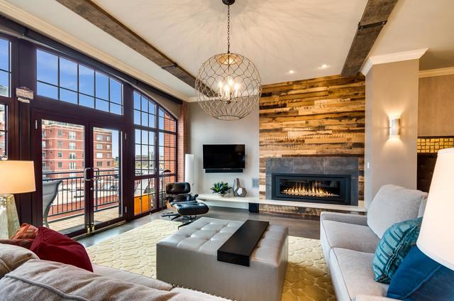 downtown denver loft. Black Bedroom Furniture Sets. Home Design Ideas