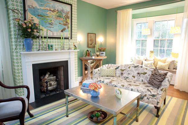 Drawing Room eclectic-family-room
