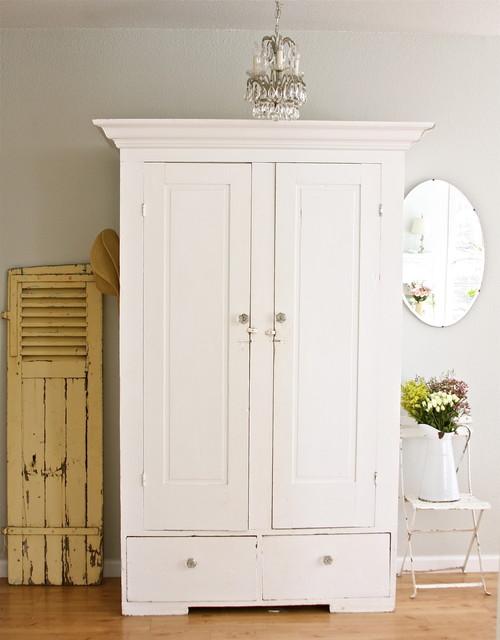 einrichtungstipps wohnzimmer shabby chic fotos:Armoires and Wardrobes White