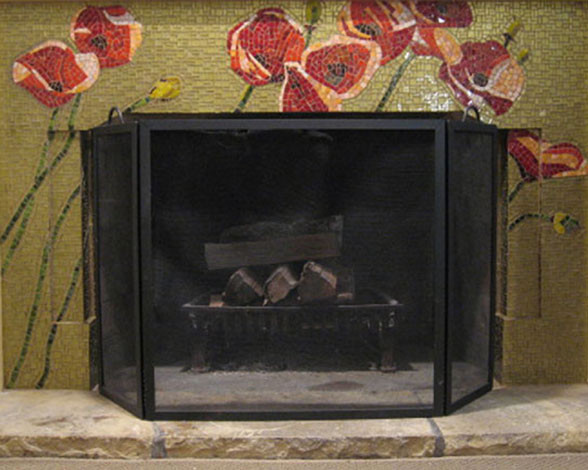 Duncan Fireplace contemporary-family-room