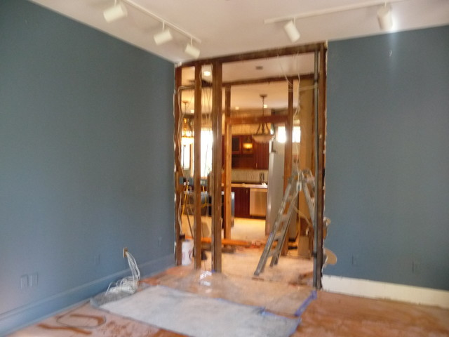 New Orleans (uptown) Work in progress traditional-family-room