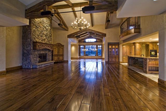 Eagle, Idaho Custom Home eclectic-family-room