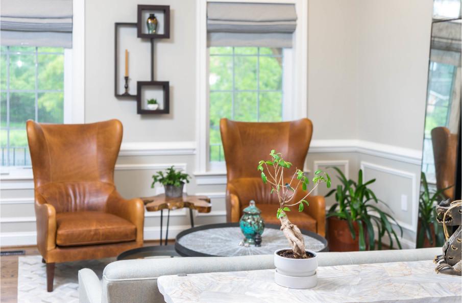 Earthy Urban Living Room