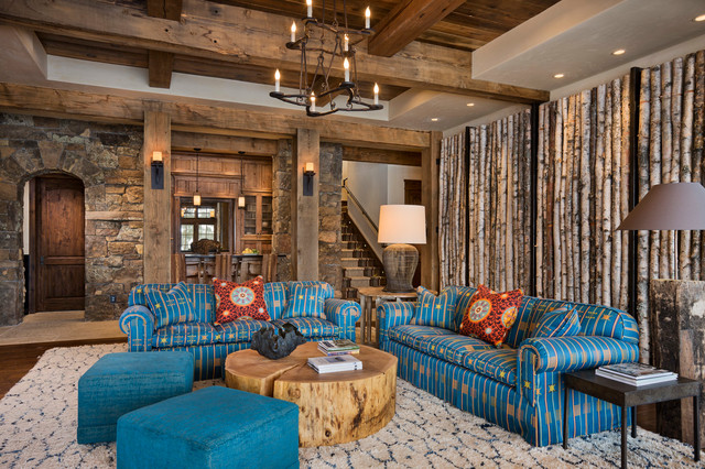 Rustic Accent Wall Houzz