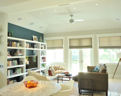Melaleuca House eclectic family room