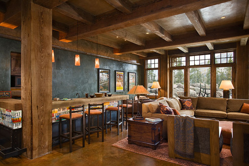 Eclectic Family Room · More Info