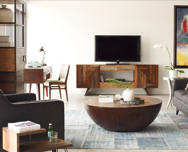 Eclectic Family Room Design eclectic-family-room