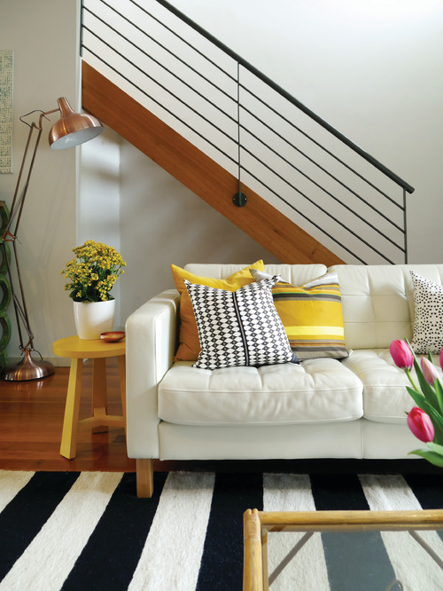 image named eclectic family room
