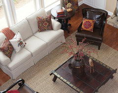 Eclectic Home in Roswell, GA eclectic family room