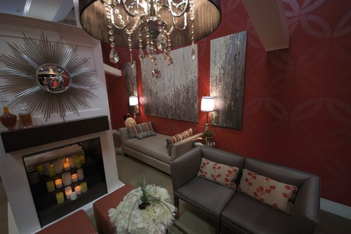 Jennifer Brouwer Decor by Jennifer Inc  media room