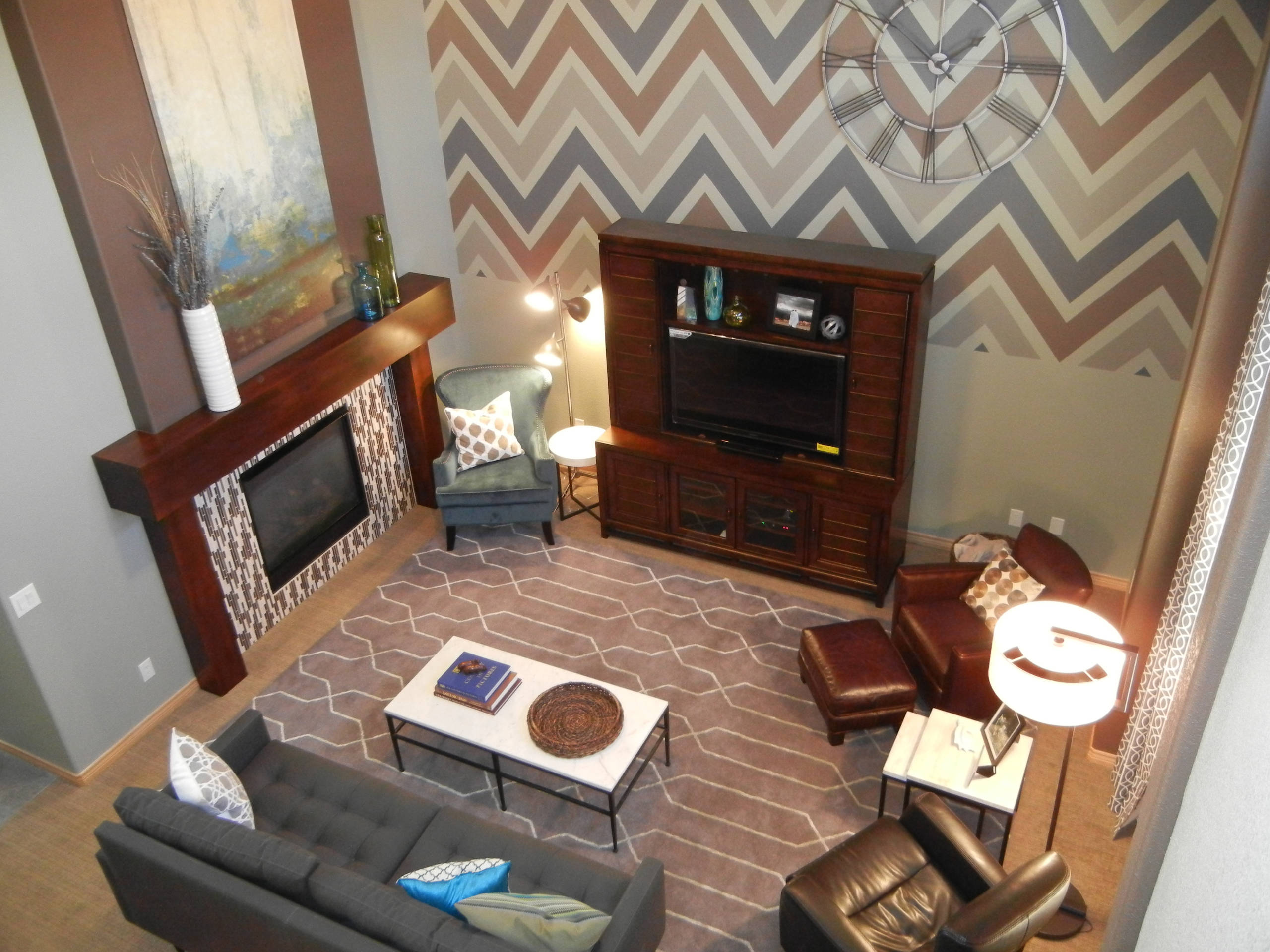 Eclectic Modern Family Space