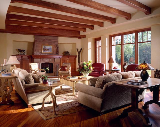 Edina Arts & Crafts traditional-family-room