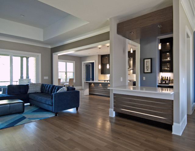 egan residence contemporary kitchen wet bar design contemporary