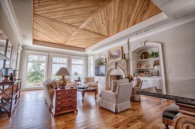Elegant custom home on lake tuscaloosa traditional for Custom home builders birmingham al