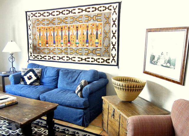 Elegant Hacienda eclectic-family-room