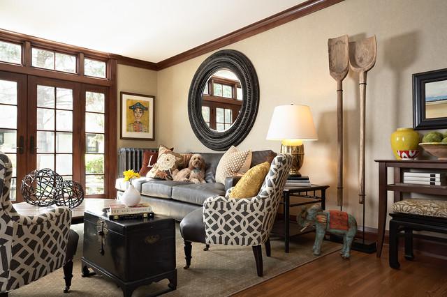 Elsie Interior | Lake Harriet Parkway | Minneapolis, MN traditional-family-room