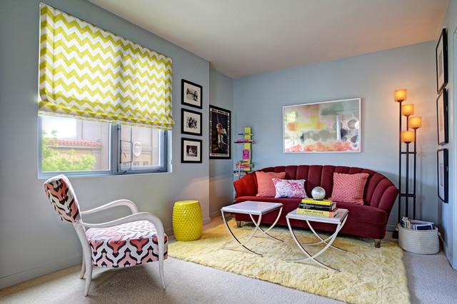 Emeryville Condo - Den eclectic-family-room