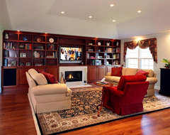 empty nesting - the great room traditional-family-room