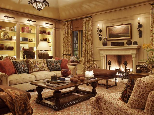 Enchanted Oaks traditional-family-room