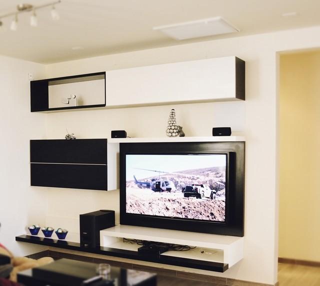 Entertainment center - Modern - Family Room - other metro - by Centenario - Fabricantes