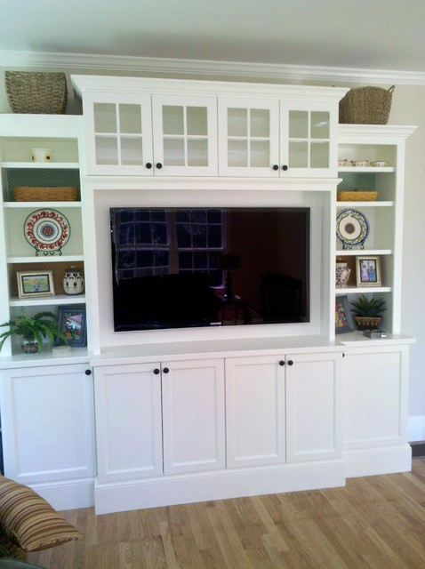 Entertainment Center traditional-family-room