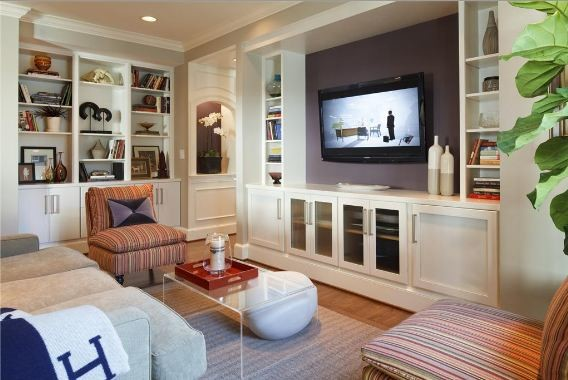 Living Room Entertainment Center Ideas entertainment center ideas - modern - family room - chicago -
