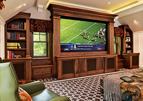 Fine Woodworking Entertainment Center