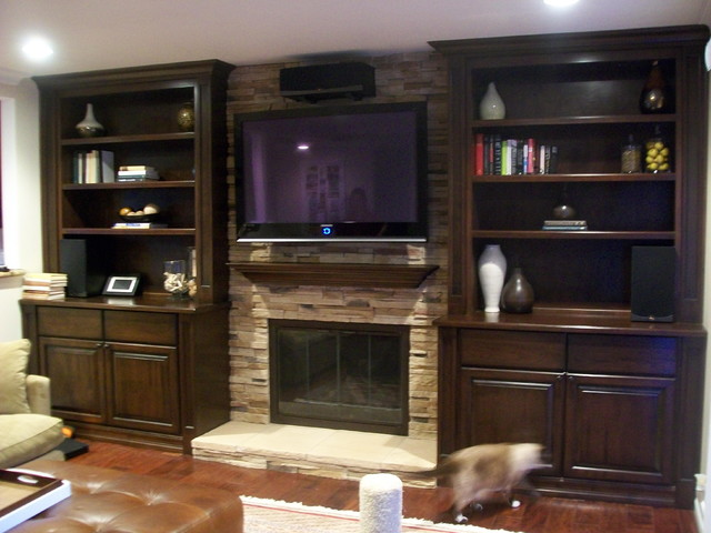 Entertainment centers and wall units How to build an entertainment wall unit