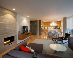 Erie Avenue Residence contemporary-family-room