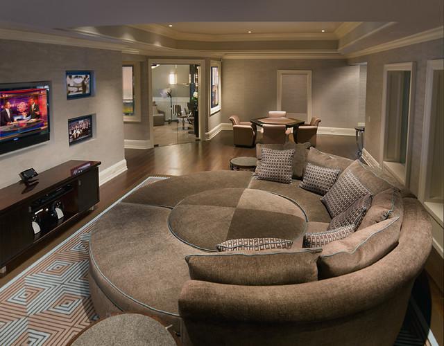 European Contemporary contemporary-family-room