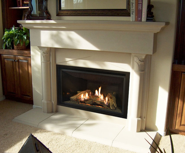 Fireplace Remodel Mediterranean Family Room San Diego By Fireside Design Center