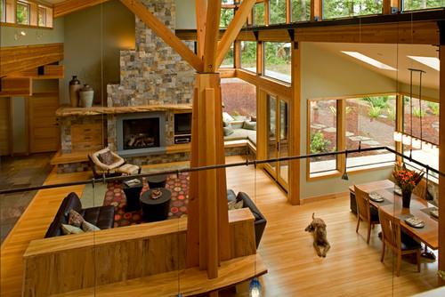 Modern design at Fallen Maples