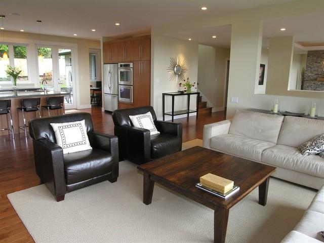 family & kitchen contemporary-family-room
