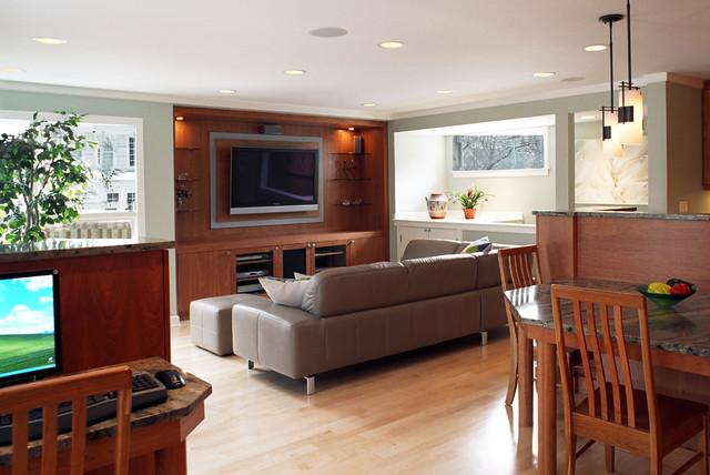 family dynamic - the family room contemporary-family-room