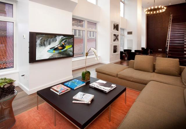 Family/Media Room contemporary-family-room