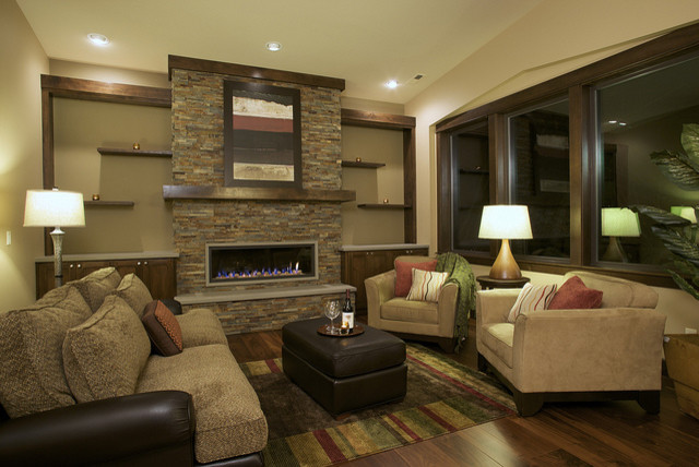 Family Room 1 - contemporary - family room - other metro - by Six ...