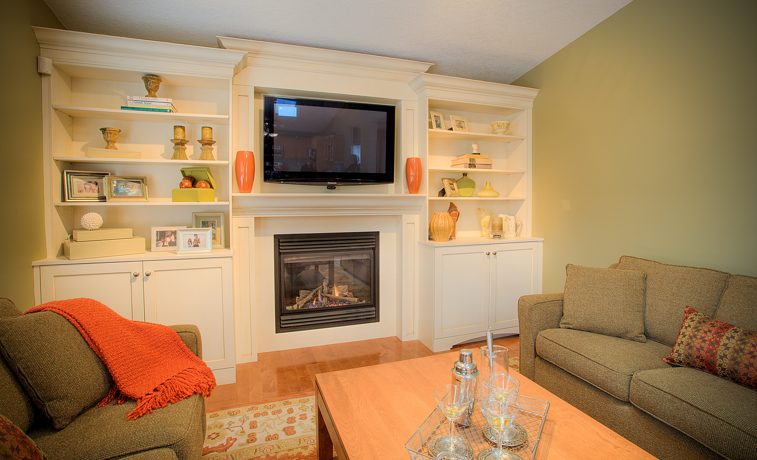 Family Room and Finished Basements