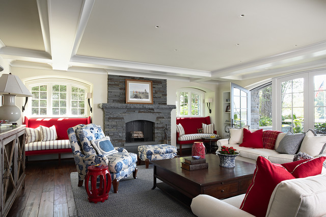 Red White And Blue Room red white and blue | houzz